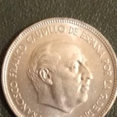 Monedas Franco: MONEDA DE 5 PTAS. DE FRANCO 1949. Lote 163900694