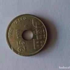 Monedas Franco: ERROR EN LETRAS MARCADAS EN CANTO DE MONEDA DE 5 PESETAS 1993. Lote 164404518