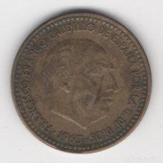Monedas Franco: 1 PESETA 1963, ESTRELLA 67. Lote 165255534