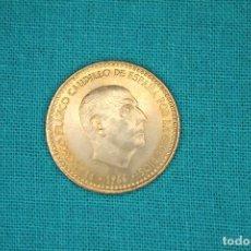 Monedas Franco: ESPAÑA 1 PESETA, 1966 ESTADO ESPAÑOL 19-73 SIN CIRCULAR. Lote 165272902