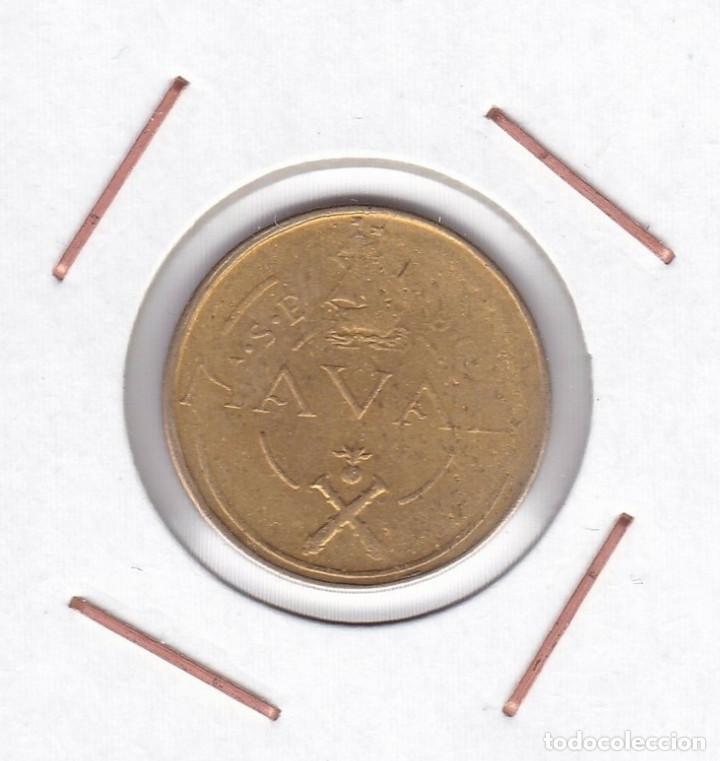 ESPAÑA 1 PESETA 1948 PRUEBA NAVAL ( TALLERES SAN CARLOS - CÁDIZ ) (Numismática - España Modernas y Contemporáneas - Estado Español)