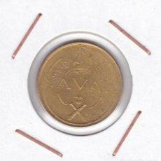 Monedas Franco: ESPAÑA 1 PESETA 1948 PRUEBA NAVAL ( TALLERES SAN CARLOS - CÁDIZ ). Lote 165330342