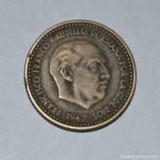 Monedas Franco: 1 PESETA 1947, ESTRELLA 48. Lote 165405046