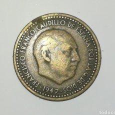 Monedas Franco: PESETA FRANCO 1947 ESTRELLA 50. Lote 165477292