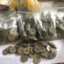 Monedas Franco: LOTE DE APROXIMADAMENTE 1200 MONEDAS DE 50 CÉNTIMOS DE FRANCO. Lote 165595782