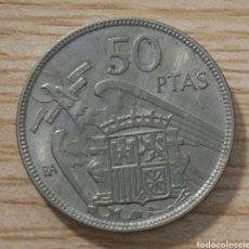 Monedas Franco: 50 PESETAS FRANCO 1957*BA MADRID. Lote 166001226