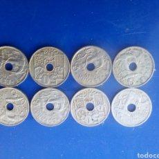Monedas Franco: LOTE DE 8 MONEDAS 0'50CTMS. Lote 166836613