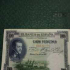 Monedas Franco: BILLETE 100 PTAS, 1925. Lote 167154212