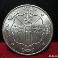 Monedas Franco: 100 PESETAS 1966 ESTRELLAS 19 68 PLATA. Lote 167597360