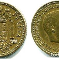 Monedas Franco: 1 PESETA 1953 ESTRELLAS 19-61 PERFECTAS. Lote 167838324