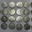 Monedas Franco: CONJUNTO DE 22 MONEDAS DE 100 PESETAS DE PLATA DEL ESTADO ESPAÑOL, VARIAS FECHAS. LOTE 1641. Lote 168166240