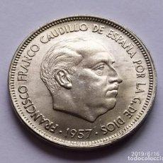 Monedas Franco: ## 50 PESETAS 1957* 67 EBC+ ##. Lote 168360824