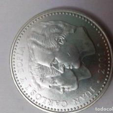 Monete Franco: MONEDA DE PLATA DE 2000 PESETAS 2001 SIN CIRCULAR. Lote 245467060