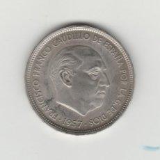 Monedas Franco: 50 PESETAS- 1957-ESTRELLA 74-PROF-DE CARTERA. Lote 168831029