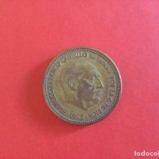 Monedas Franco: MONEDA DE 2,50 PESETAS DE 1953 *54. Lote 168833108