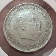 Monedas Franco: 25 PESETAS 1957*69. Lote 169211866