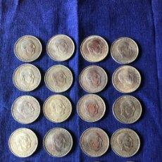 Monedas Franco: LOTE 20 MONEDAS DE PLATA- 100 PESETAS - AÑO 1966 *66 - FRANCISCO FRANCO. Lote 170514056