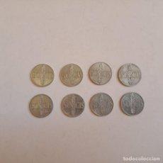 Monedas Franco: 8 MONEDAS FRANCO 50 CTS. Lote 171963960