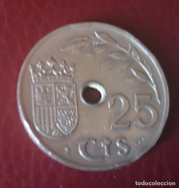 Monedas Franco: MONEDA DE 25 CTMS ESPAÑA (1937) - Foto 2 - 172677153