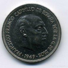Monedas Franco: 5 PESETAS 1949 (*19-49) - SIN CIRCULAR. Lote 172867932