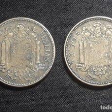 Monedas Franco: LOTE 2 X 2,5 PESETAS 1953 *(19/54) Y *(19/56) . Lote 172962173