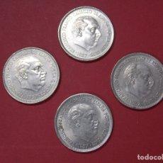 Monedas Franco: MONEDAS 25 PESETAS - FRANCO - AÑO 1957, ESTRELLA 75 - EBC+, BRILLO ORIGINAL ... L205. Lote 173057490