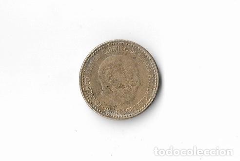 MONEDA 1 PESETA 1953 * 56 (Numismática - España Modernas y Contemporáneas - Estado Español)