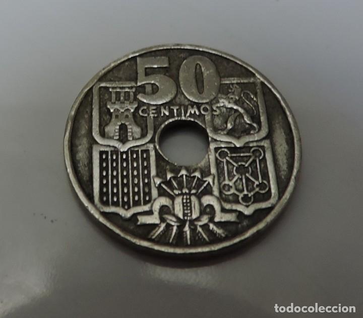 50 CENTIMOS FRANCO 1963 ESTRELLA 65 (Numismática - España Modernas y Contemporáneas - Estado Español)
