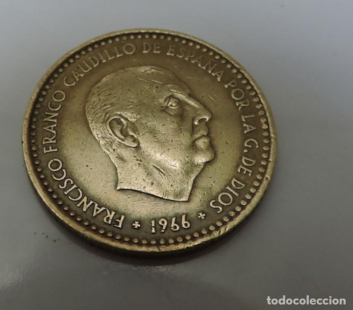 PESETA FRANCO 1966 ESTRELLA 19 *71 (Numismática - España Modernas y Contemporáneas - Estado Español)