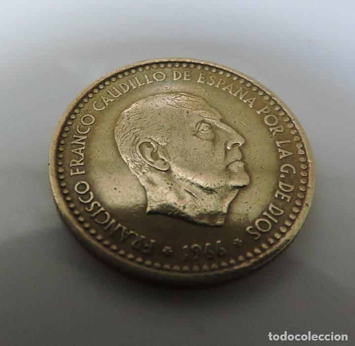 Monedas Franco: PESETA FRANCO 1966 ESTRELLA 19 *71 - Foto 2 - 173599274