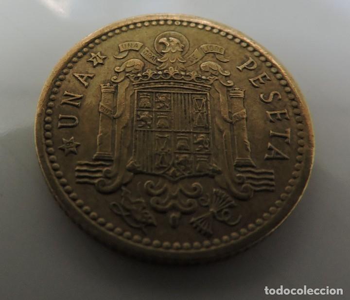 Monedas Franco: PESETA FRANCO 1966 ESTRELLA 19 *71 - Foto 4 - 173599274