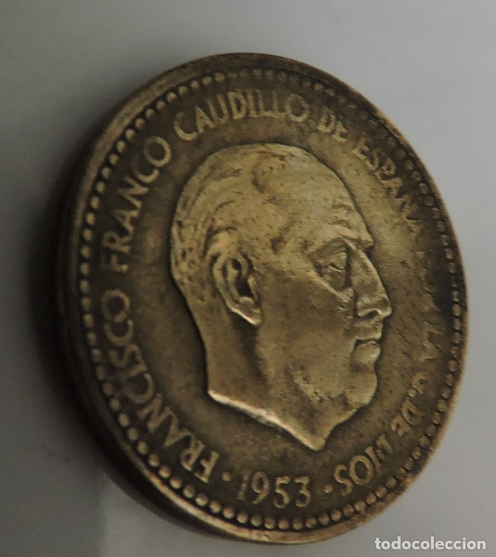 PESETA FRANCO 1953 (Numismática - España Modernas y Contemporáneas - Estado Español)