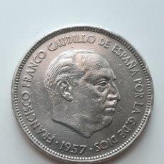 Monedas Franco: MONEDA - 25 PESETAS 1957 *75 - FRANCO. Lote 174586532