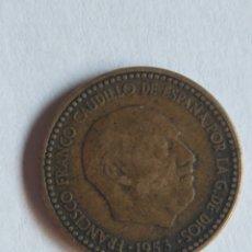 Monedas Franco: 1 PESETA DE 1953 *56. Lote 174893372