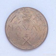 Monedas Franco: ¡¡¡ 1 PESETA DEL ESTADO ESPAÑOL DE 1948 PRUEBA DE LOS TALLERES DE SAN CARLOS EBC+/SC- !!!. Lote 175417737