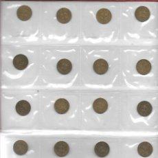 Monedas Franco: LOTE 24 MONEDAS 1PTS DE 1944. Lote 176232897