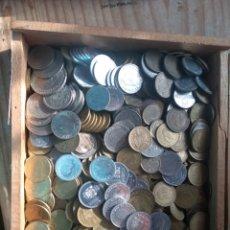 Monedas Franco: 3KILOS DE PESETAS ECT LEER DESCRIPCIÓN. Lote 176315967