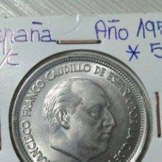 Monedas Franco: MONEDA DE 50 PESETAS DEL 57 *58. Lote 176563515