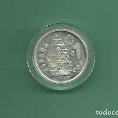 Monedas Franco: PLATA-ESPAÑA. 1 ECU 1996. HOMENAJE A LA MARINA. 6,72 GRAMOS DE LEY 0,925. Lote 183951265