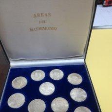 Monedas Franco: ESTUCHE CON 13 MONEDAS DE 100 PESETAS DE FRANCO DE PLATA. Lote 176777514