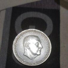 Monedas Franco: MONEDA 100 PESETAS DE PLATA (ESTRELLA 67). Lote 176949529