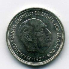 Monedas Franco: 5 PESETAS 1957 (*69) - SIN CIRCULAR. Lote 177089142