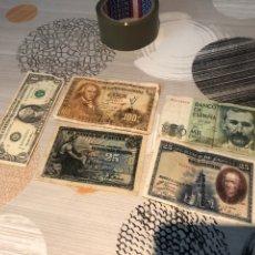 Monedas Franco: LOTE DE BILLETES ESPAÑA ANTIGUOS- VER LAS FOTOS. Lote 177186663