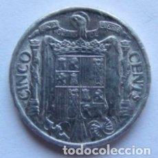 Monedas Franco: MONEDA DE 5 CÉNTIMOS SIN CIRCULAR DEL AÑO 1940.. Lote 178389765