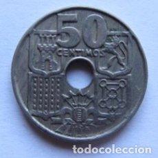 Monedas Franco: MONEDA DE 50 CÉNTIMOS DEL AÑO 1949.. Lote 178390181