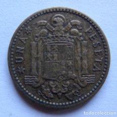 Monedas Franco: MONEDA DE 1 PESETA DEL AÑO 1953, FRANCO . EXCELENTE ESTADO.. Lote 178390758