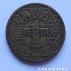Monedas Franco: MONEDA DE 1 PESETA DEL AÑO 1944. EXCELENTE ESTADO.. Lote 178390825