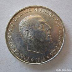 Monedas Franco: FRANCO . 100 PESETAS DE PLATA . ESTRELLAS PERFECTAS . 19-66. Lote 178557671