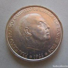 Monedas Franco: FRANCO . 100 PESETAS DE PLATA . ESTRELLAS MUY CLARAS . 19-66. Lote 178662921