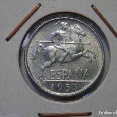 Monedas Franco: ESTADO ESPAÑOL, 5 CENTIMOS DE 1953 SIN CIRCULAR. Lote 178666153
